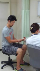 スポーツ整形外科診察